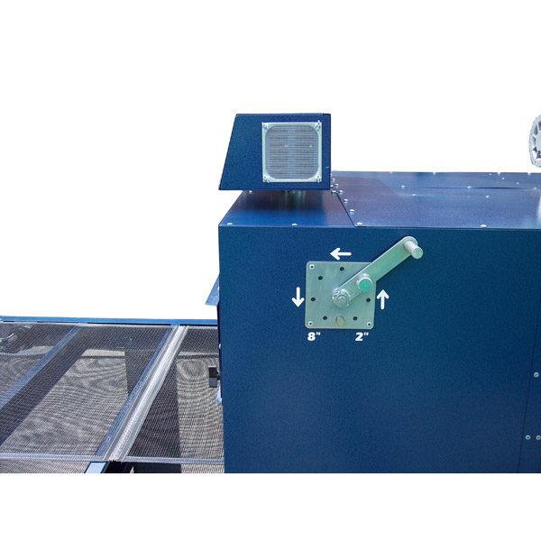 Регулятор высоты панели туннельная конвейерная ИК сушилка Ranar Turbo Jet Star