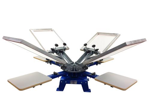 Печатный станок для шелкографии на текстиле ranar-p4400bt
