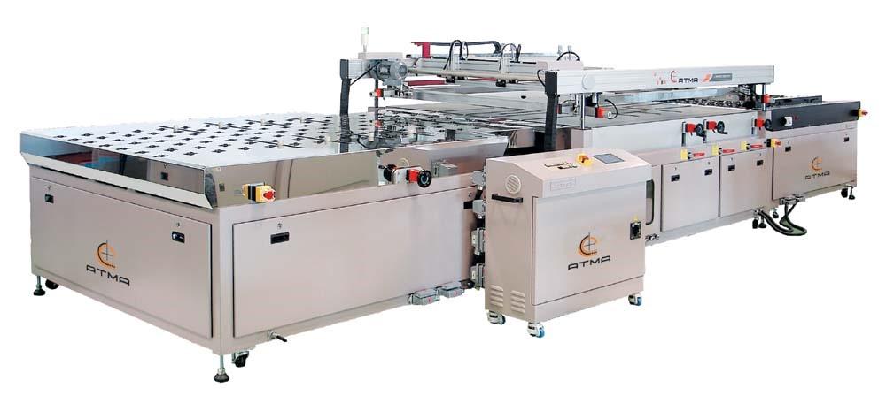 Оборудование для печати на стекле, шелкография