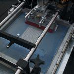 На фото: печать на печатных платах.