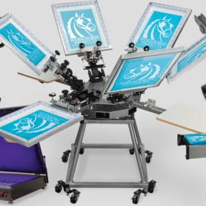 оборудование для шелкографии на ткани
