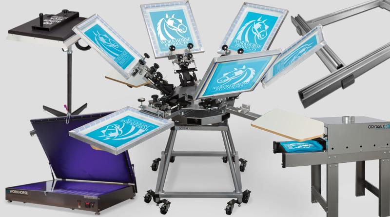 технология шелкографии для печати на футболках