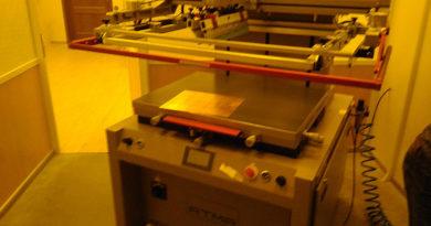 Ввод в эксплуатацию станка трафаретной печати ATMA AT-EW80P