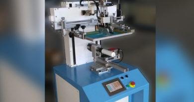 П/а станок для цилиндрической печати с оптическим цветосовмещением и сервоприводом