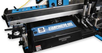 Термопресс Stampinator 480 для текстильных карусельных автоматов шелкографической печати