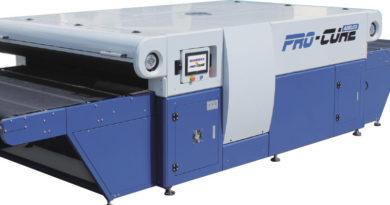 Конвейерные ИК сушилки Pro Cure от Adelco для текстильной печати
