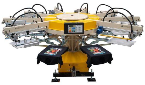 Автоматический станок для печати на футболках TAS Compact CX