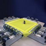 Оборудование для шелкографии. Натяжное устройство.
