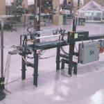 На фото: автоматическая высокопроизводительная печать на ремешках, лентах, шнурках.