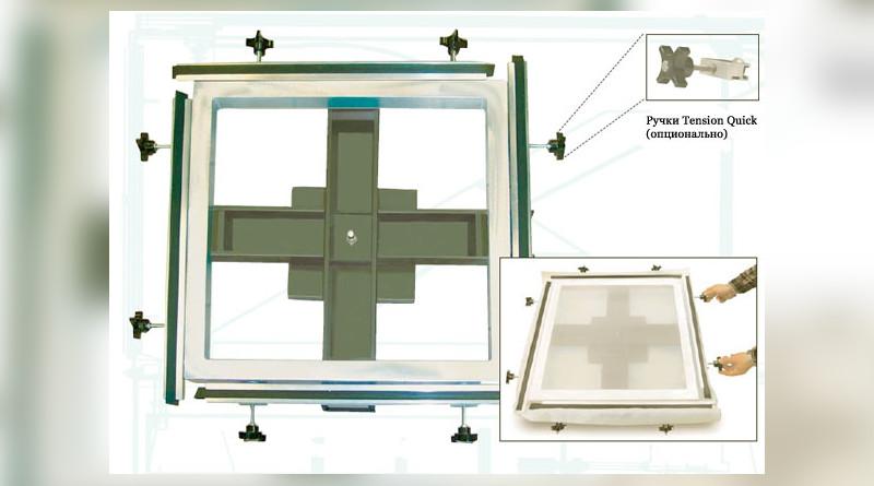 Натяжные устройства AWT Easy-Stretch до 122х122см
