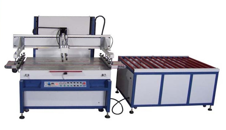 Станок для печати на стекле. Оборудование для печати на стекле.