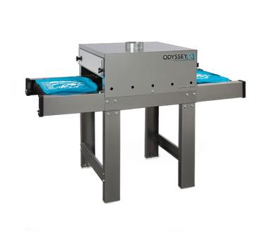 Печать на ткани, оборудование (туннельная сушилка)