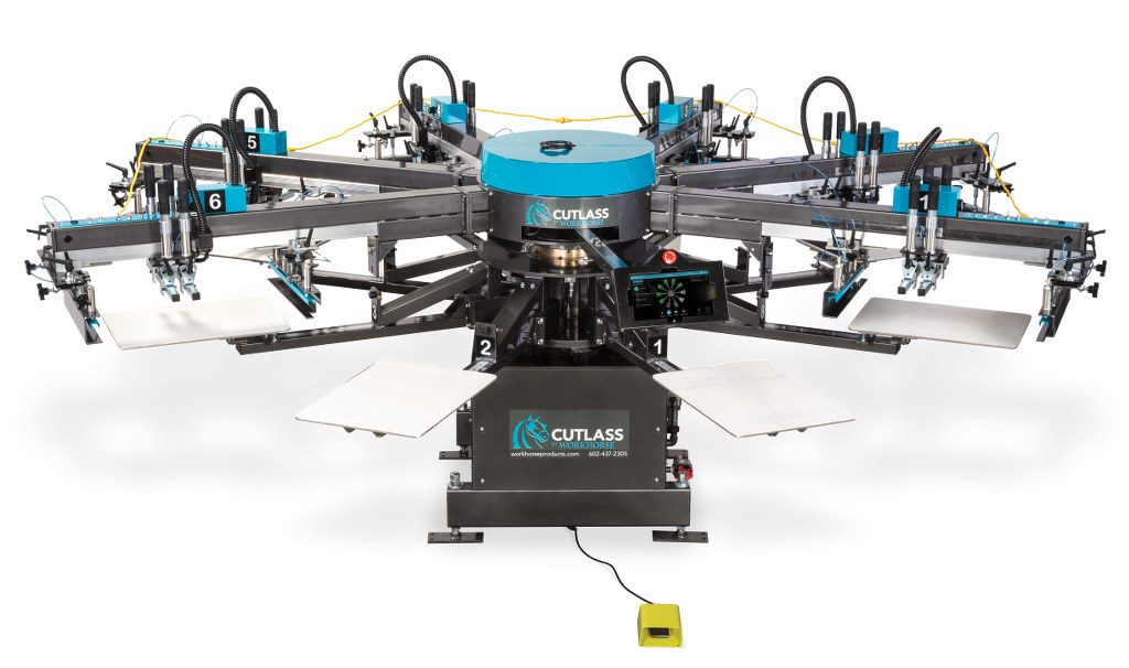 Оборудование для печати на ткани Workhorse Cutlass