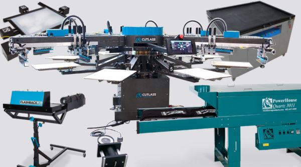Комплект оборудования для печати на текстиле