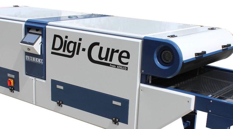 Конвейерная ИК сушилка Adelco Digi-Cure для текстильной цифровой и трафаретной печати