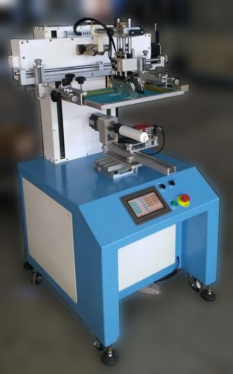 Полуавтоматический станок для цилиндрической печати