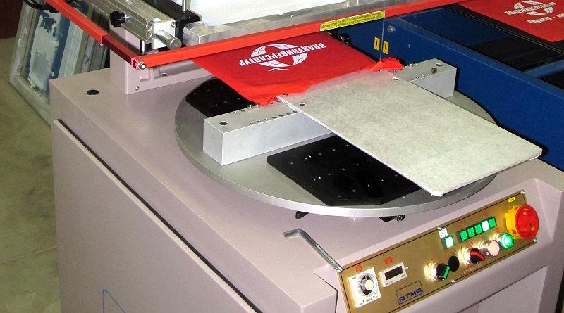 Полуавтоматический станок для шелкографии ATMA AT-400FAD/E