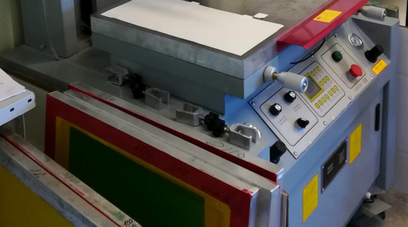 полуавтоматический станок трафаретной печати 40х60см