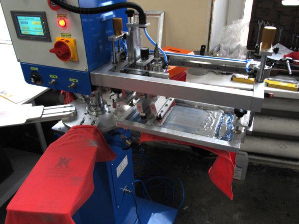 Пчатная головка станка для печати этикеток