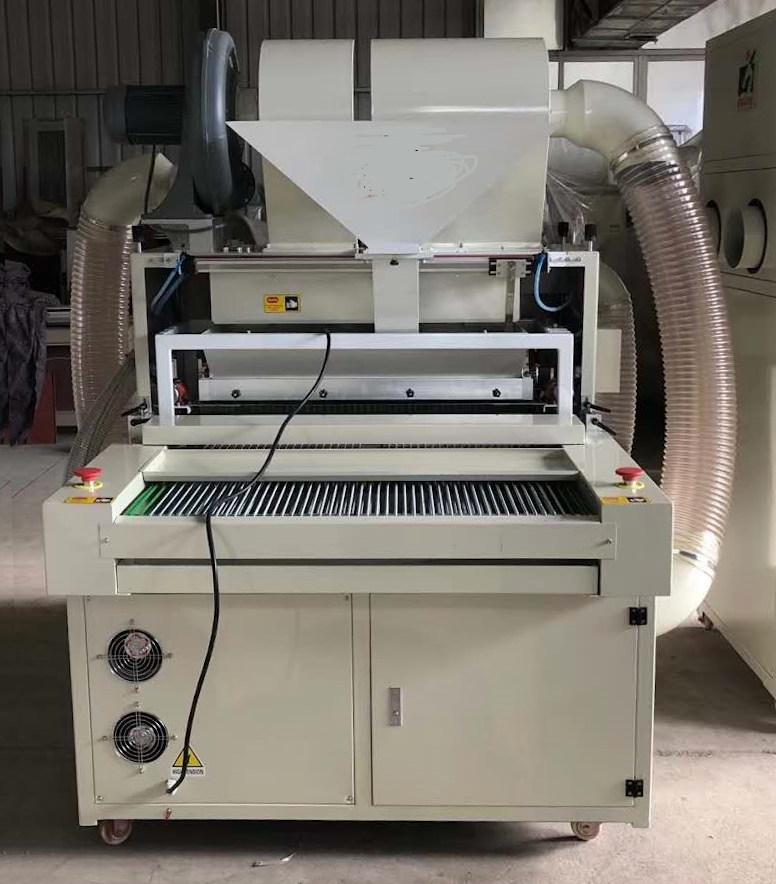 Автоматическая установка для нанесения термоклеевого порошка на термотрансферы