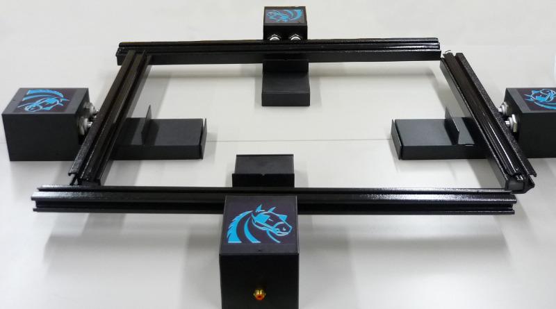 Натяжное устройство для сетки