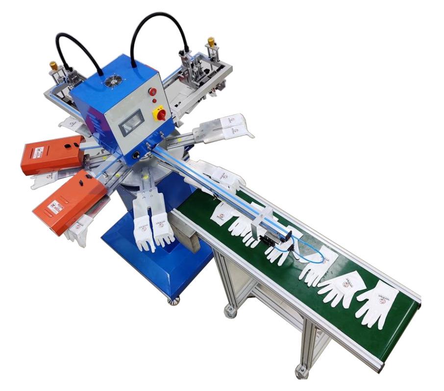 Оборудование для печати на перчатках и носках