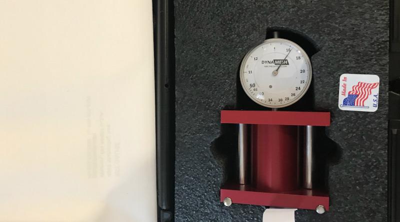 Тензометр для измерения натяжения сетки